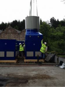 GRP cooling tower design and installation